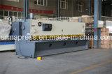 Tipo fazendo à máquina de corte máquina de corte da guilhotina do tamanho grande 6m de QC11y para a estaca do metal
