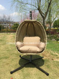Popular Pátio Garden Egg Swing Chair com Textilene
