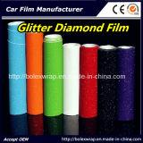 Couleurs choisissez un film de diamant brillant Glitter Black Diamond Car Wrapping PVC Vinyl Film