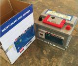 Батарея автомобиля конструкции DIN62mf серой ручки батареи красной новая безуходная