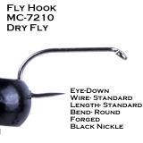 Neues gemäßigter Preis-Fliegen-Fischen, das Haken bindet
