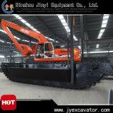 L'excavatrice hydraulique de chat avec sarclent la pile Jyae-355