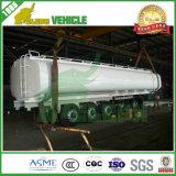 Flüssiger Transport-LKW-halb Kraftstoff-Tanker mit Schlussteil-Aufhebung
