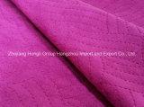 Tessuto della pelle scamosciata impresso alta qualità per l'indumento di modo, 95%T/5%Sp, 292GSM