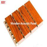 Panneau de mur en bois d'absorption saine de panneau de décoration de panneau de plafond d'écran antibruit