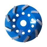 고품질 터보 구체적인 가는 세그먼트 또는 다이아몬드 구체적인 컵 바퀴