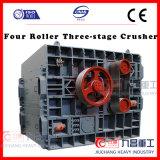 Triturador Three-Stage do rolo da máquina de trituração quatro para o minério