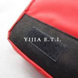 Sacchetto del messaggero di colore rosso con la casella esterna Zippered