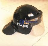 Capacete anti-motim da polícia de alta qualidade com sombra líquida