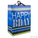 Sac de papier de cadeau de Brithday, sac de cadeau, sac à provisions de papier, sac de papier d'emballage