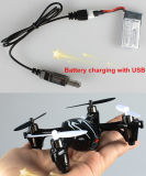 2.4G 4CH RC Quadcopter avec l'appareil-photo et l'UFO 10180245 de HD de bourdon du gyroscope 6-Axis RC