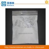 De Transparante Zak van uitstekende kwaliteit van het Kledingstuk van de Ritssluiting van pvc Duidelijke Plastic