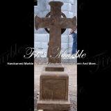 Memorial memorável Mem-177 de Qy Brown do granito memorável de pedra memorável de mármore