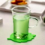 Copo de chá de vidro da qualidade super nova com mão (CHT8603)
