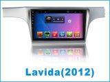 De androïde Monitor van de Speler van de Auto DVD van het Systeem voor Volkswagen Lavida met GPS van de Auto Navigatie