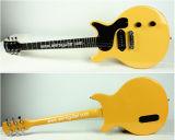 Поставщик сертификата BV/SGS---Гитара Aiersi двойная Cutway младшая плоская электрическая с приемистостью P90