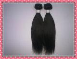 Выдвижение волос самой горячей девственницы волос 10-30inch 100g пачки Weave прямых волос типа 5A естественной естественной черной Unprocessed бразильское