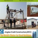 Qualität und installieren schnell Stahlkonstruktion-Gebäude fabrizieren Lager