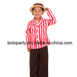 Bambino Red e White Stripe Jacket