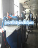PVC模造大理石の室内装飾材料の突き出るライン