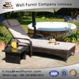 Хороший салон Sun ротанга Furnir привлекательный регулируемый с свободно бортовой таблицей