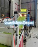 Línea de extrudado de los materiales de mármol de imitación de la decoración interior del PVC