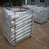 Pile au sol en acier galvanisée de vis d'IMMERSION chaude avec la plaque