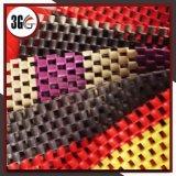 Couvre-tapis antidérapage de PVC (DEMI DE CHAÎNE 3G-D)