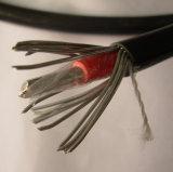 Do fio de alumínio de alumínio contínuo da multa do condutor da baixa tensão cabos concêntricos blindados