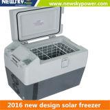 Petit congélateur de réfrigérateur portatif actionné solaire de véhicule de congélateur de congélateur avec le congélateur de véhicule de compresseur de C.C