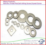 Rondelle à ressort de qualité/à plat rondelle/rondelle carrée/rondelle de finissage/rondelle renversée