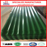 Couleur Coated Galvanized PPGI Corrugated Steel Sheet pour Roof