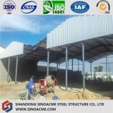 Installazione della struttura d'acciaio del magazzino portale mobile del blocco per grafici