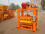 Máquina concreta do bloco do cimento Qtj4-40/cinza de mosca para a venda em China