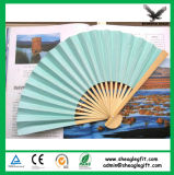 Regalos de la boda del ventilador de la mano de los niños DIY de papel de papel ventilador del arte