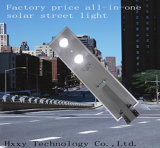 20W動きセンサーは1つの太陽LEDの街灯のすべてを統合した
