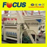 Верхний смеситель качества 1000L конкретный, твиновский Discharging конкретного смесителя вала Js1000 пневматический
