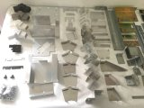 Pièces en aluminium de soudure de qualité pour la construction #3124