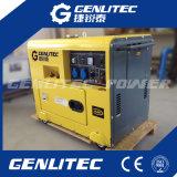 Máquina de solda de gerador diesel silencioso 5kw