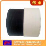 Negro de la fuente, cintas desgarrables blancas del PVC