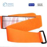 Kundenspezifisches Firmenzeichen-elastischer Haken und Schleifen-Brücke