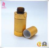Het gouden Kosmetische Pakket van de Fles van het Aluminium