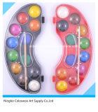 torta del color de agua de la alta calidad de los colores 2.5cm*12 para los cabritos y los estudiantes (sostenido especial)