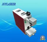 Портативная машина летая маркировки лазера волокна для гравировки обрабатывая корабли