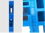 StandaardPallet 1.2*1.0m van de EU HDPE de Statische Pallet van de Vorkheftruck van het Dienblad van 3 Ton Plastic met 5 Agenten voor de Producten van de Opslag van het Pakhuis (zg-1210B)