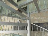Jogos de vidro modulares da escadaria do passo de vidro antiderrapante espiral de alumínio das escadas de DIY