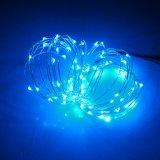 Cer RoHS anerkannte kupferner Draht-Zeichenkette-Lichter des Dekoration-Batterie-Kasten-LED