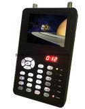 """Mini medidor de localização de satélite 3.5 """"com porta Ahd para teste de câmera CCTV"""