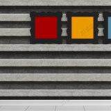 Papel pintado de piedra impermeable del diseño 3D de la decoración del vinilo casero popular del PVC