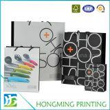 Logotipo personalizado Saco de papel de presente impresso para compras